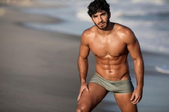 Hot male model pablo morais necessary