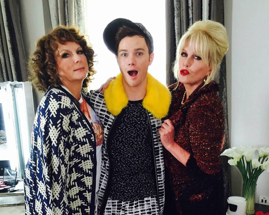 Chris Colfer em Absolutely Fabulous