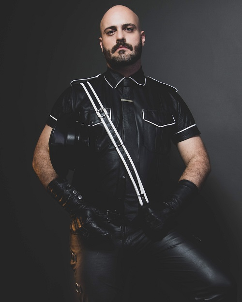 Dom Papai: candidato a Mister Leather Brasil 2019